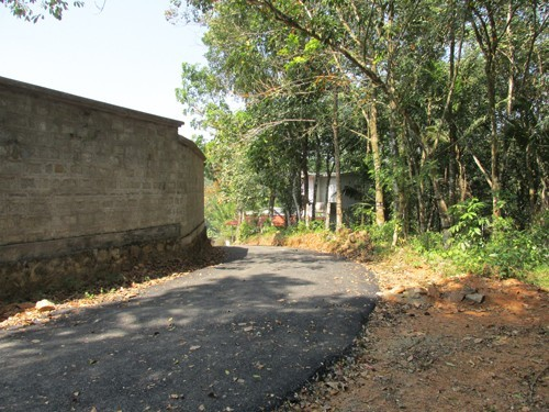 10 Cent Land With House For Sale At Kozha Kuravilangad