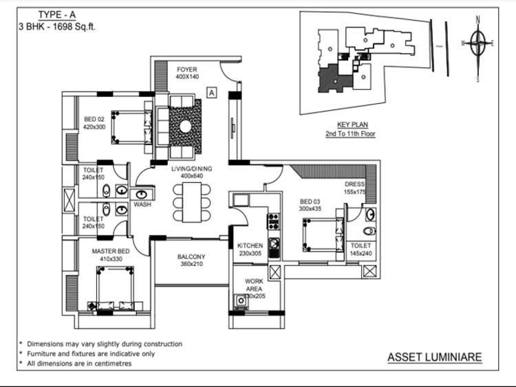 Asset Luminaire The Premium Apartments At Kadavanthra