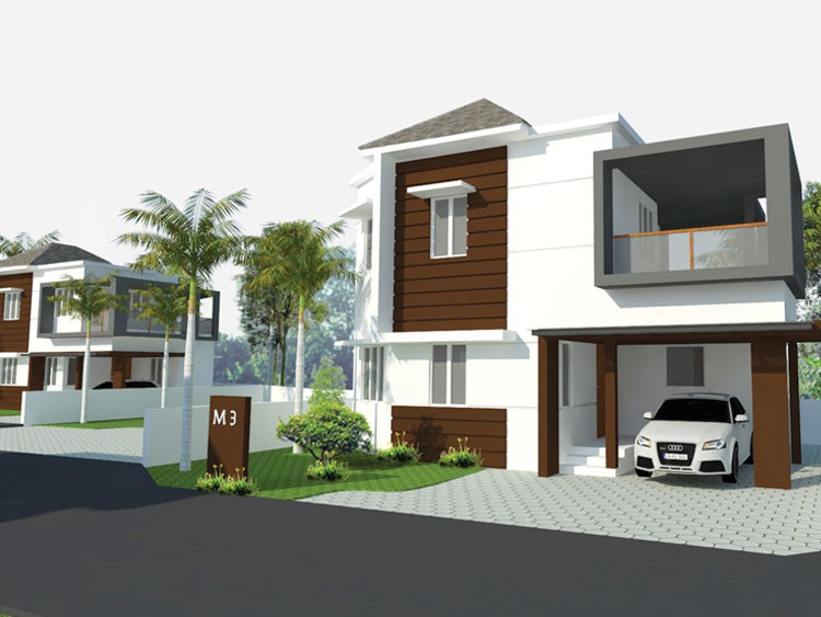 LUXURY OMG MAGNUS 3BHK VILLAS for sale in near Vaniyamkulam Town Palakkad
