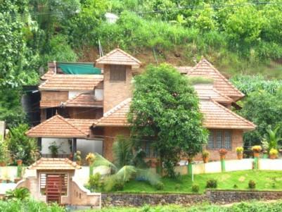 Water Frontage Villa for sale at Thodupuzha, Anakkayam, Idukki
