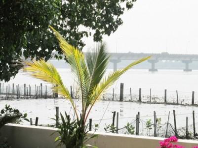 Beautiful Water Frontage Villa for sale at Thevara, Ernakulam.