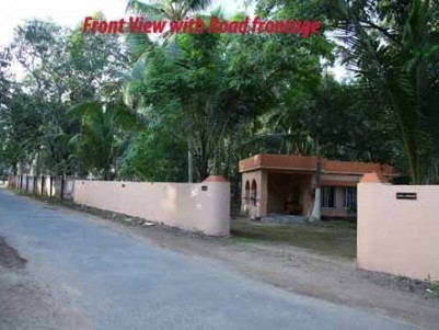 2000 Sqft 3 BHK House with 47 Cents of land for sale at Anthiyoorkonam,Thiruvananthapuram.