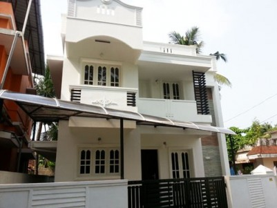 1250 Sqft 3 BHK House on 2.3 Cents of Land for sale at Nettoor,Kochi,Ernakulam District.