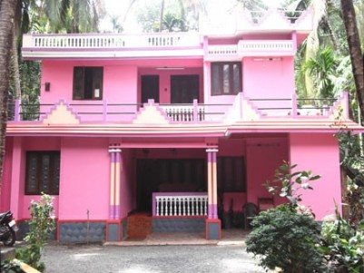 3000 sqft 4 BHK Double Storied House and 1300 sqft Comercial building on 46 Cents of Land for sale a