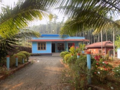 18 cent road side plot and 3 bhk house in Kokadavu Cherupuzha