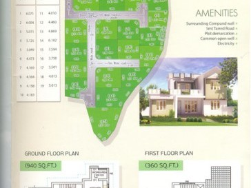 Karappillil Builders - Villa Plots for sale at Adatt,Thrissur.