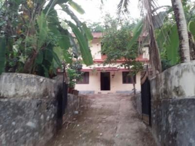 Kattakada 1500 SQFT House with Rubber Plantation