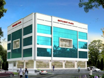 Commercial Building for rent at Changanassery, Kottayam.