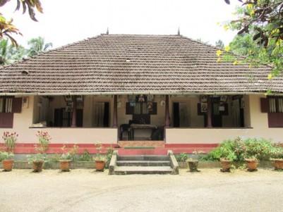 Land with an Old Tharavadu Model House for sale at Thodupuzha,Idukki.