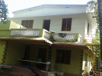 Upstair of House for Rent at Ottapalam,Palakkad.