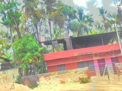 6.25 Cents of Commercial land with an old House for sale at Ashokapuram, Kozhikode.