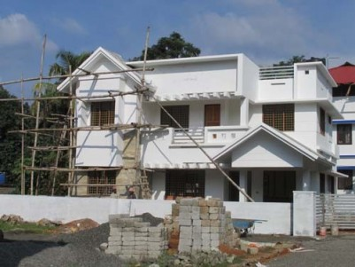 2150 Sq.ft 4 BHK House on 6 Cents of land at Pookkattupady,Ernakulam.