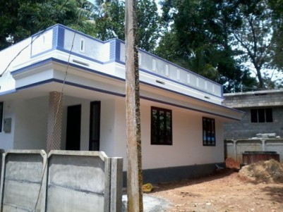 800 Sq ft 2 BHK beautiful house for sale near NH AMBALUR,THRISSUR.