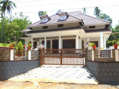2593 sqft European Model House for sale at Thodupuzha, Idukki