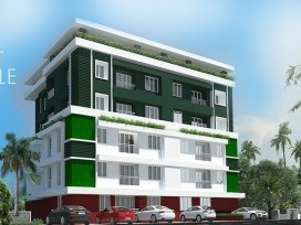 ECLECTIC ROYAL ENCLAVE APARTMENT  FOR SALE AT AYANTHOLE .THRISSUR DISTRICT.
