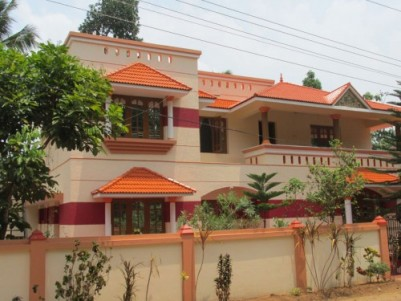 3200 Sq.ft 4 BHK Beautiful House for sale at Adoor,Pathanamthitta.