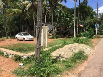 35 cents land for sale, bus route frontage, Nannatukavu near Pothencode, plot aslo available