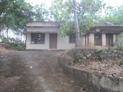 1 acre land with 1500 sq.ft house for sale at Pathanapuram (Kollam District)