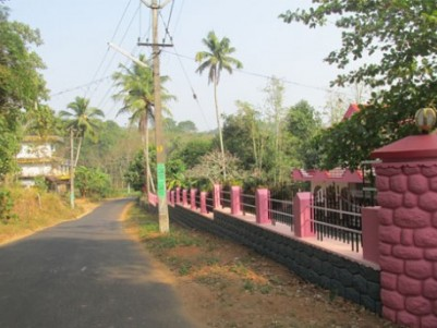 55 cent plot with house for sale at keezhuvaipur, Pathanamthitta