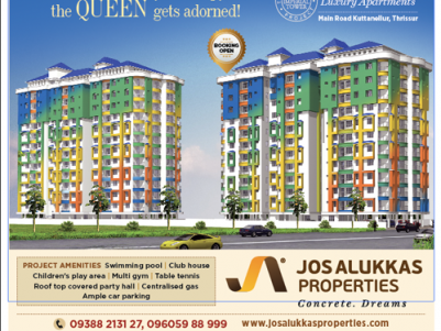 Imperial Towers -Affordable Flats  at Kuttanelloor, Thrissur.