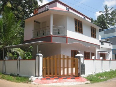Ready to Occupy 1400 Sqft 3 BHK Villa on 3 cents of land for sale in the Heart of Trivandrum City.