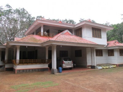 8 Acres of  Land with Two Houses for sale at Mathurappa,Anchal,Kollam.