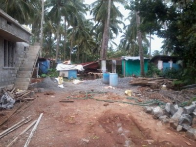 4.5 Cents of  land for sale at Padavarad near Ollur,Thrissur.