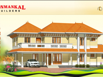 Ponmankal Builders: Flats, Villas, Appartments at Kottayam, Ettumanoor, Carithas