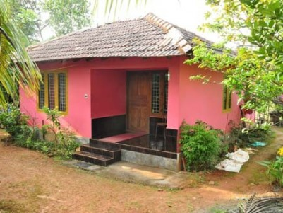 15 Cents of  Land with 2 BHK House for sale at Mananthavady,Wayanad.