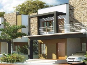 Villas for Sale at Menamkulam,Kazhakuttom,Trivandrum.