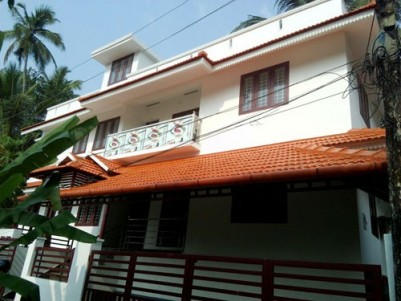2000  Sqft 4BHK Double storied House on 4.25 cents of land for sale at Kanjikuzhy,Kottayam