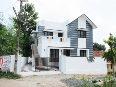 1400 Sq.Feet New Double Storied House for Sale at Pookkattupady,Ernakulam.