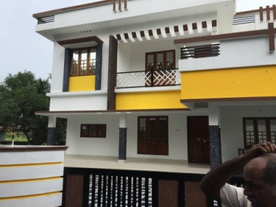 2700 Sqft 5 BHK House on 7 Cents of land for sale at Pookattupady,Ernakulam.