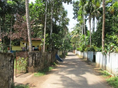 9.350 Cents of Land with a Small House for sale at Kodungallur,Thrissur.