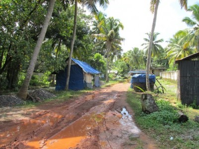 3 Acres wide area water front land for sale at Chemmanagiri,Chembu-Toll Junction,Vaikom,Kottayam.