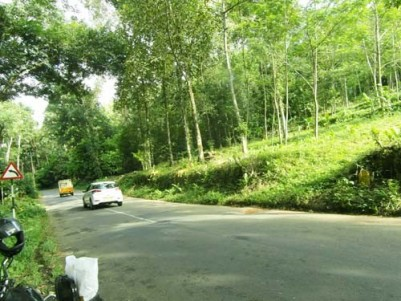 1 Acre Land for sale at Edamaruku,Erattupetta,Kottayam.