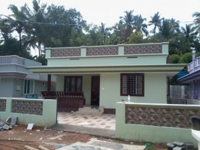 650 Sq ft 2 BHK beautiful House for sale at Pallikkunnu,Thrissur