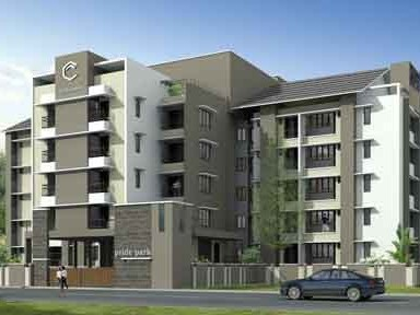 Chathamkulam Pride Park - 1709 Sq.ft 3 BHK Flat for sale at Tharekkad, Palakkad.