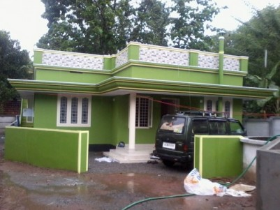 700 Sq ft 2 BHK beautiful house  for sale at  Paliyakkara ,Thrissur.