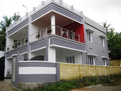2600 Sq.ft 4 BHK house on 5.4 cents land for Sale at Chavadimukku, Sreekaryam, Trivandrum.