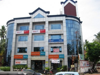 Newly Constructed Commercial Building for Rent at Ulloor Jn, Trivandrum.