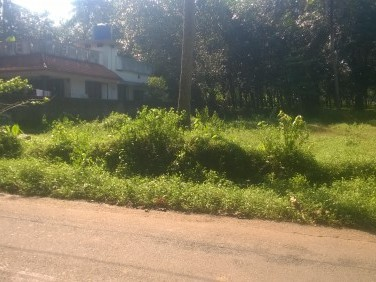 Perfect square plot for sale at kanjoor Near cochin international airport