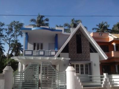 1700 Sqft 3 BHK Elegant  Villa for sale at Palakkal,Thrissur.