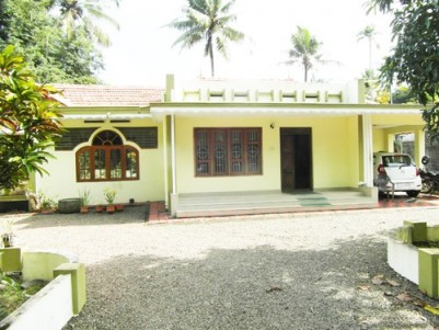 64 Cent Land with 2500 Sq.ft 4 BHK House for sale at  Kothala,Pampady,Kottayam.