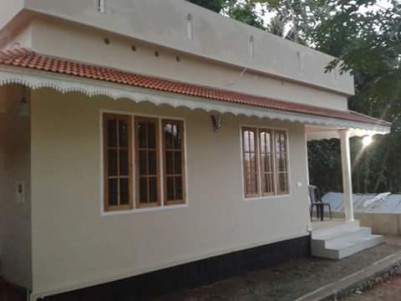 600 Sqft 2 BHK House on 2.5 Cents of land for sale at Amballoor,Ernakulam District.