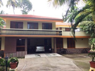 5000 Sq.ft 4 BHK Well Maintained Fully Furnished House for sale at North Paravur,Ernakulam.