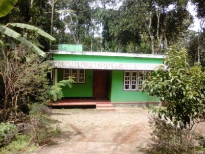 90 Cents of LA pattayam land with 2 BHK House for sale at Pooppara,Munnar,Idukki.