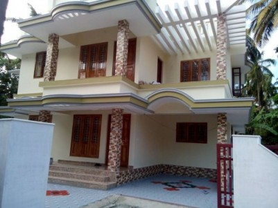 2750 Sq.ft 4 BHK House on 8.75 Cent land for sale at Pattikkad,Thrissur.