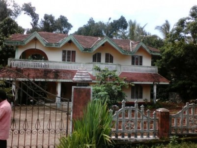 50 Cents of Land with 2000 Sqft 4 BHK House for sale at Palikkunnu,Munnar,Idukki.
