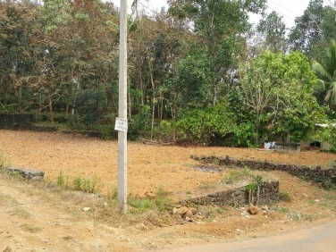 23 cent tar road side property for sale at  Perachuved, Kanjirathinmood,Puthuppally